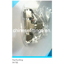 Cutting Ring Fittings, Stainless Steel Socket Weld Tee