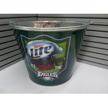Promotional Customized Galvanized Metal Ice Buckets