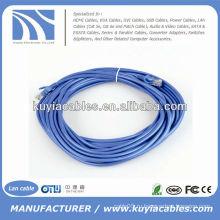 Совершенно новый красочный синий кабель Ethernet-патч-шнура Ethernet 15FT