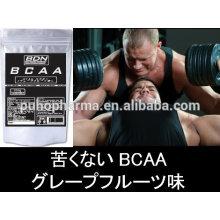 Mejor polvo de bcaa en masa / polvo de bcaa 2: 1: 1 GMP, ISO