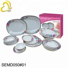 SEBEST Eco-Friendly 16pcs CE japan style elegant melamine tableware custom melamine dinnerware sets