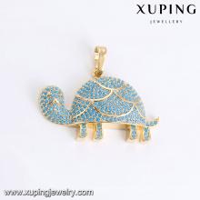 33089 pendentif en forme de charmes en forme de bijoux de bijoux Xuping avec plaqué or