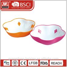 Bunter Salat Plastikschüssel A
