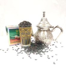 Gunpowder green tea the vert de chine 3505 green tea to  Morocco Europe 200g box packing 3505 the vert