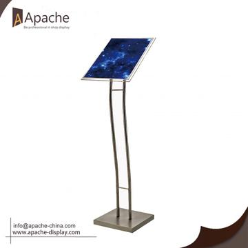 Advertising Poster Floor Stand Outdoor Sign Holder
