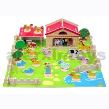 3D Wooden Farm Puzzle (81024)