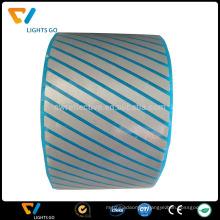 hi vis Heat Transfer Reflective Segmented PET film laser Tape Iron on Fabric / bags