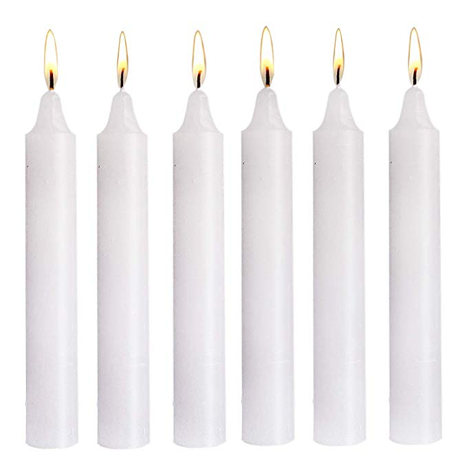 Candle White Colour