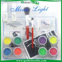 Getbetterlife kit de tatuaje arte de cuerpo profesional, 8 colores temporales Glitter Tattoo Kit