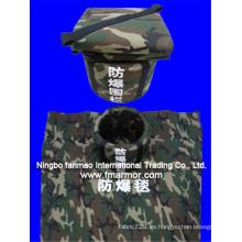 Manta de supresión de bomba UHMWPE para seguridad pública