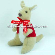 mini stuffed and plush kangaroo toy