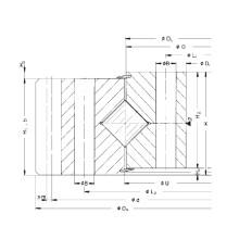 Rothe Erde External Gear Crossed Roller Slewing Ring (161.25.1077.890.11.1503)
