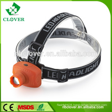 1W LED emergency most powerful headlamp for outdoor