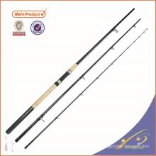 FDR001 alta fibra de carbono de pesca tackle vara de pesca flexível alimentador