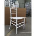 Blanco Monobloc resina chiavari silla en la fiesta