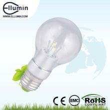 600 lumen led bulb light e27 base