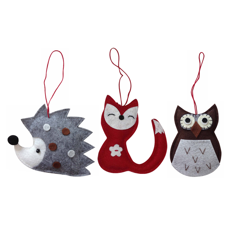 Winter Woodland Christmas Tree Ornament