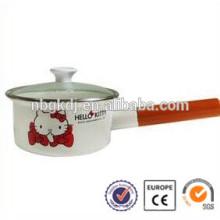 2 pcs conjunto pote de cozinha set / grande panelas para venda / tampa de vidro pote de cozinha