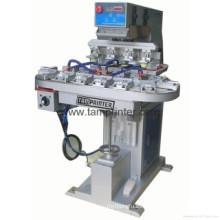 Impresora del cojín de 4 colores transportador CD TM-C4-P