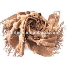 fourrure décorée pashmina châles wraps