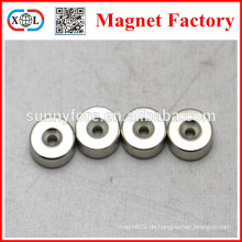 N52 versenkt flach rund Magnet generator