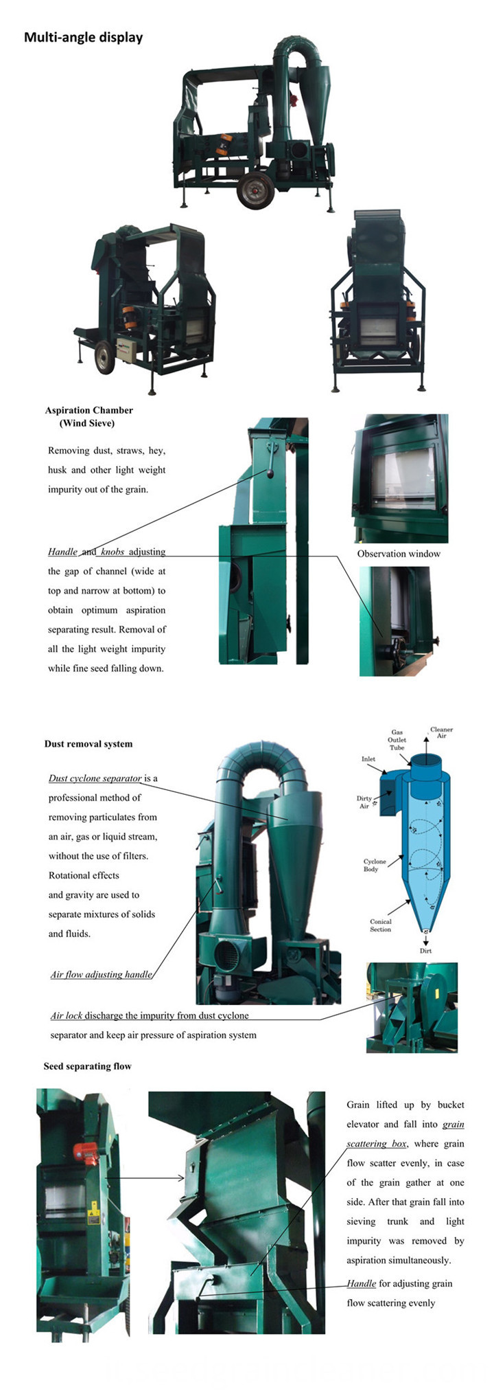 Seed Cleaning Machine (2)