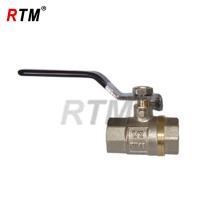 Internal thread brass ball valve