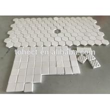 Hexagonal en alúmina