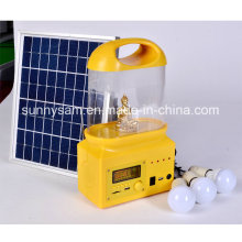 Tragbare LED wiederaufladbare Solarlicht Laterne für Camping
