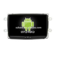 ¡Cuatro nucleos! DVD de coche de Android 6.0 para DUSTER con pantalla capacitiva de 8 pulgadas / GPS / Enlace de espejo / DVR / TPMS / OBD2 / WIFI / 4G