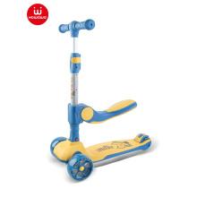 scooter plegable para niños con asiento para niños patinete