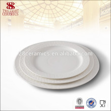 hot sale china tableware ceramic dish dinner plates sets for difference size