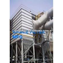 Zementmühle hochdichte Staubfiltration Staubabscheider