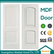 На заводе настроить интерьерную деревянную дверь из МДФ