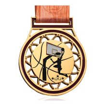 Student Themed Basketball Zinc Alloy Medal