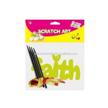 Make Scratch Art Paper