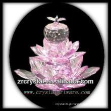 K9 Flor De Lótus De Cristal Rosa