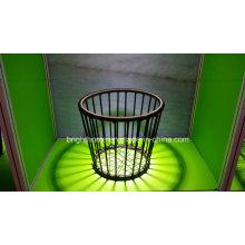 Dormitorio PE cesta de mimbre