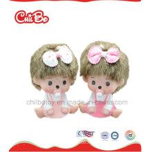 Reizende Kinder Qualitäts-Vinylspielwaren fertigen Barbie-Puppe besonders an