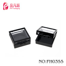 2017Cute square compact powder case for powder container cosmetic packaging