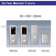 Panel de operación del aterrizaje del elevador (LOP, COP), piezas del elevador