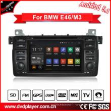 Lecteur DVD de voiture Android Car Audio pour BMW Navigateur GPS 3 / M3 avec connexion WiFi