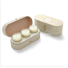 3 Stück duftenden Soja-Wachs-Glas-Kerzen-Set