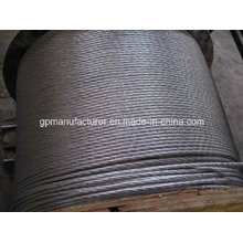 Hot-DIP Galvanized Steel Strand 1 * 7/1 * 19
