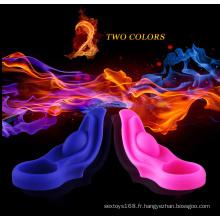 Nouvel anneau vibrant de pénis de silicone de jouet de sexe pour l'homme