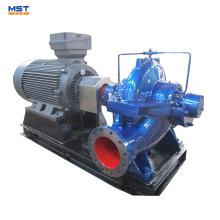 Pompe à eau brute pour centrale électrique avec moteur
