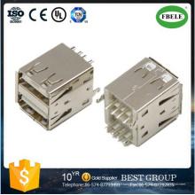 Connecteur USB Rj Connecteur USB Double Connecteur USB