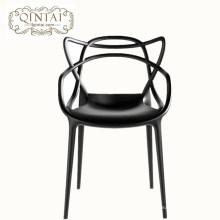 Silla del oído del gato de los pp de los muebles del restaurante del precio de fábrica del nuevo estilo 2018