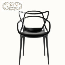 2018 new style factory price restaurant furniture pp cat ear chair