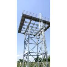 15m high elevated 1.22m hdg water tank panel overhead steel water tank